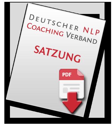 Vereinssatzung des Deutschen NLP-Coaching-Verbandes